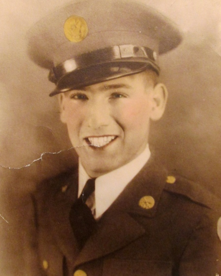 Joe Picerno of Port Charlotte had just graduated from boot camp at Fort Carson, Colo. in 1943 when this picture was taken. He was 20. Photo provided