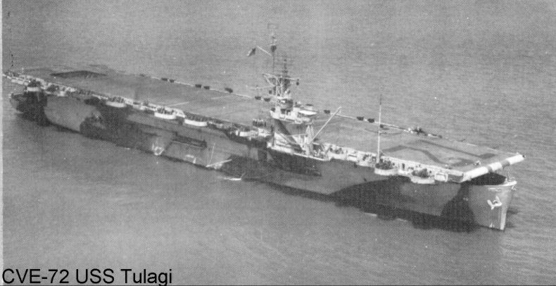 Wildcat fighter plane pilots recall landing on the 512 foot deck of the USS Talagi was like landing on a postage stamp. Photo provided