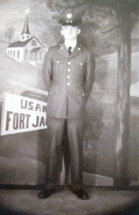 Pvt. Dennis Poulakis of Port Charlotte, Fla. is pictured shortly after graduating from basic training at Fort Jackson, S.C. in 1964. Photo provided