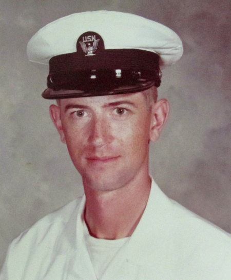 Stephen Worden of Port Charlotte is pictured in 1974 when he graduated from boot camp in San Diego, Calif. He served aboard two nuclear missile submarines during the Vietnam era. Photo provided