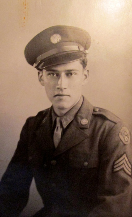Sgt. John Adams of Port Charlotte is pictured in his sergeant's uniform when he served in the Army Air Corps in World War II working for the Office of Strategic Services. Photo provided