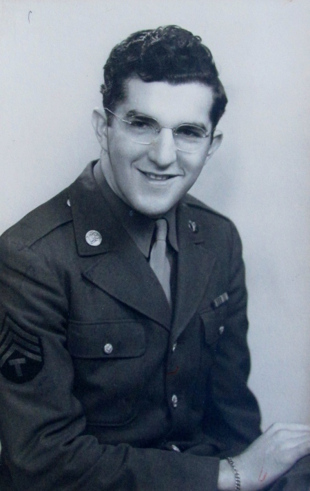 Sgt. Merle Branstetter when he served with the 94th Hospital Group in England and France during World War II. Photo provide