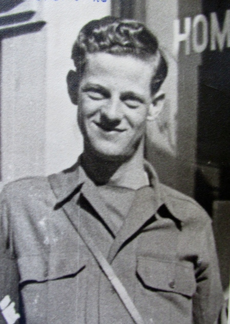 Sgt. Victor Brenk is pictured at 19 while serving in Europe with Gen. George Paton's 3rd Army. The picture was taken in Luxembourg, Germany in 1944. Photo provided