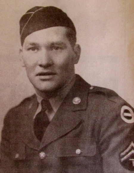 Sgt. Harold Wallace of Sunrise Mobile Home Park in Arcadia, Fla. is pictured at 25 when he was member of the U.S. Army's 782nd Engineering Petroleum Distribution Company. Photo provided