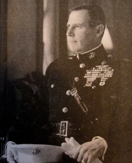 When this picture was taken, Col. John Ripley was the director of Marine Corps museums with headquarters in Washington, D.C. Photo provided