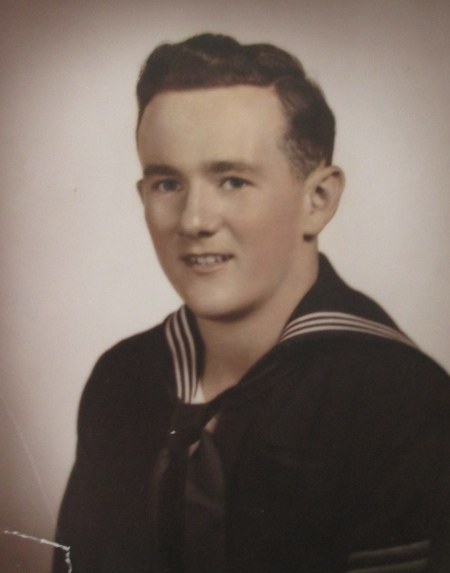 When this picture of Charles Grubbs was taken in 1954 he had just graduated from Navy boot camp in Bainbridge, Md. He was 20 years old. Photo provided