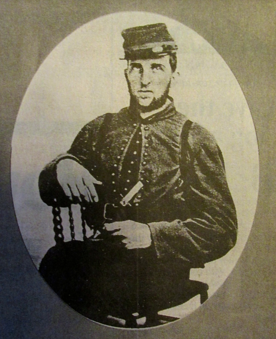 Pvt. August J. Brown at 20 pictured in a tintype months before his head was blown off at the First battle of Bull Run during the opening salvo of the American Civil War. He was the great-uncle of Budd Brown of Port Charlotte, Fla. Photo provided