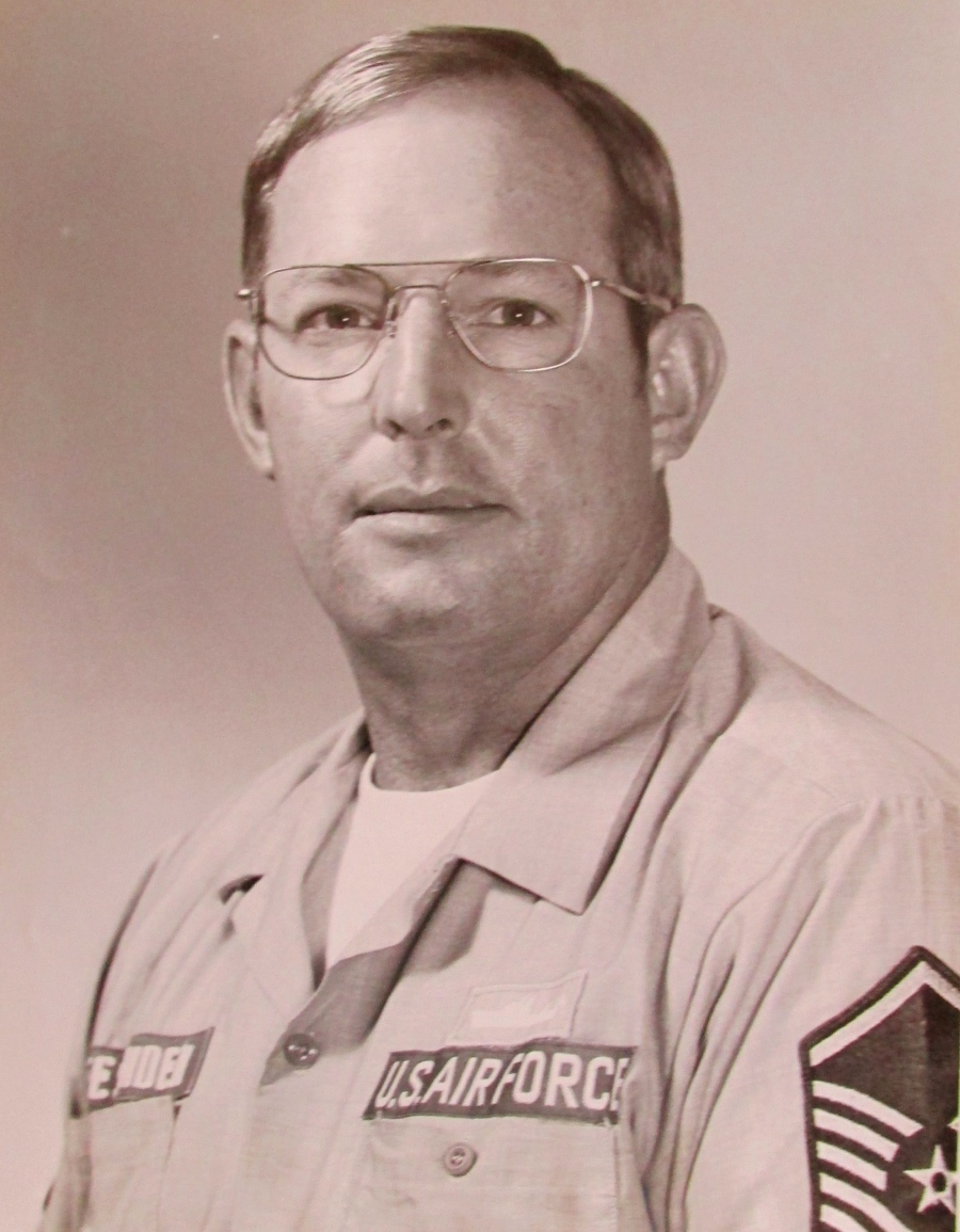 This was Phil Fessenden of Port Charlotte when he was serving as a master sergeant in the Air Force at Tyndall Air Force Base in Panama City, Fla. in 1982. Photo provided