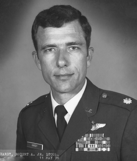 Lt. Col. Bob Hardy of Port Charlotte is pictured in his official photograph not too long before he retired at 40 from the Air Force in 1980 after 20 years of service in the military. Photo provided
