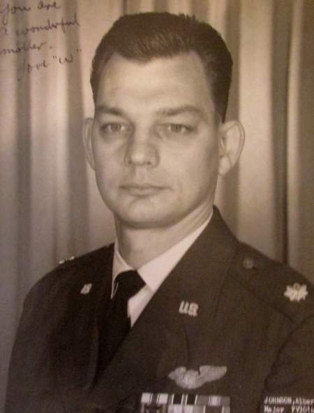 Lt. Col. Al Johnson of Port Charlotte before he retired from the U.S. Air Force in 1974 after 21 years in the service. Photo provided