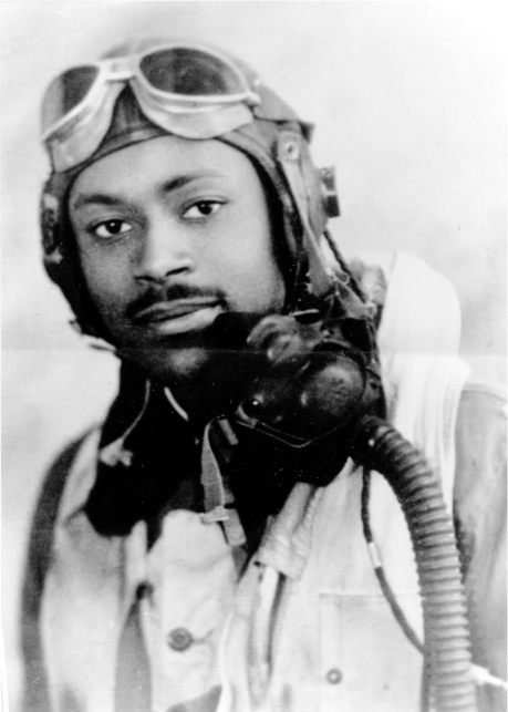"Lt. Charles Bailey of Punta Gorda, Fla. in 1943 upon graduating as a Tuskegee Airman. The Germans called his all-black 99th Fighter Squadron the ""Black Birdmen."" Photo provided"