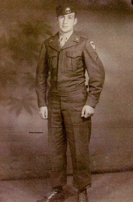 Cpl. Wayne Hilton of Deep Creek was about 20 when this picture was taken. He was a member of the 11th Airborne Division and part of the American occupation troops serving in Japan in 1945. Photo provided