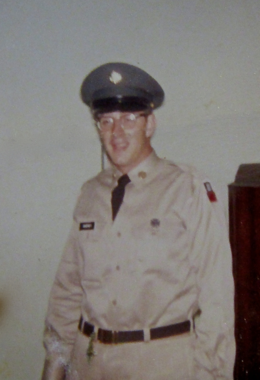 David Cheney was on leave at his parents' home in New London, Conn. in 1960 shortly after getting out of boot camp at Fort Dix, N.J. Photo provided