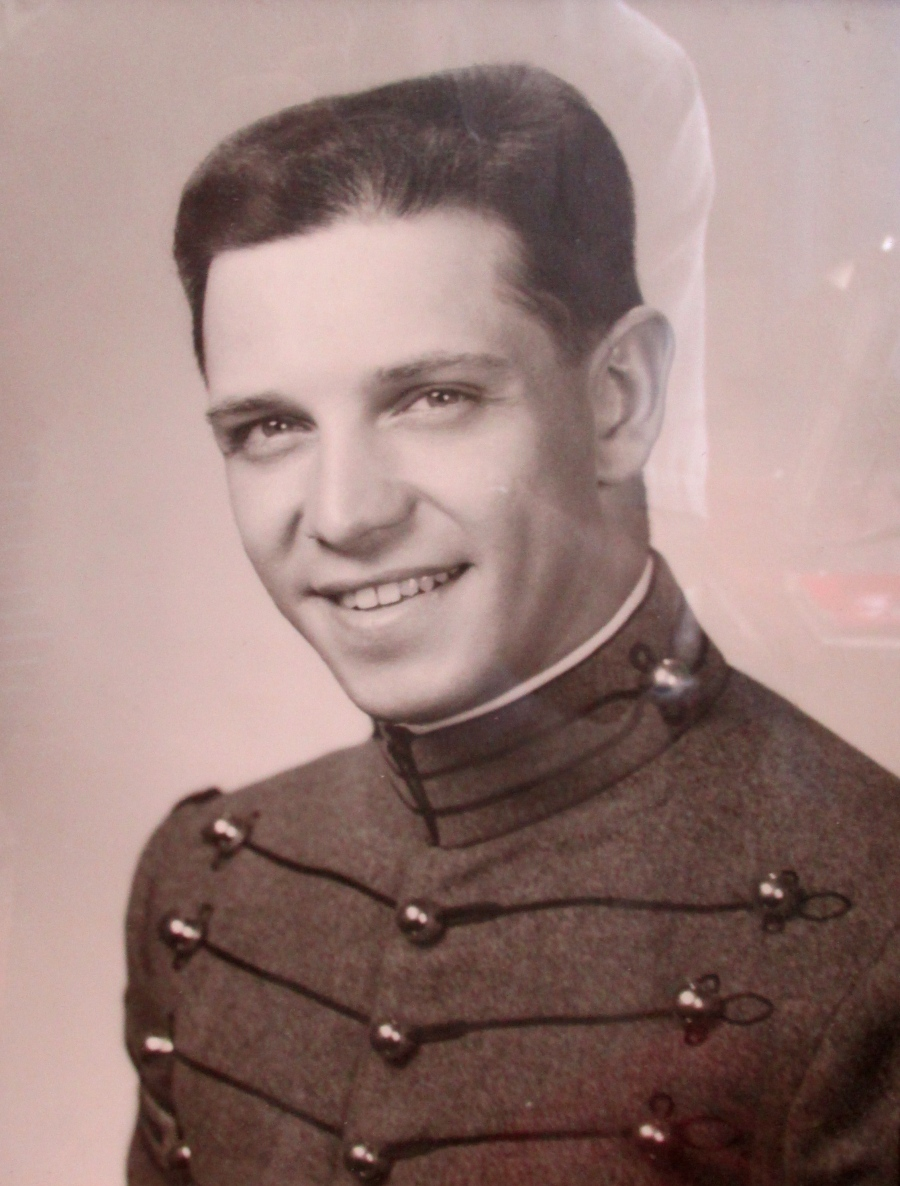 This is Carl Letterie in 1965 when he graduated from West Point as an Army 2nd lieutenant. Photo provided