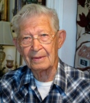 This is Joseph Lukasek at his Port Charlotte home. He is 92. Sun photo by Don Moore