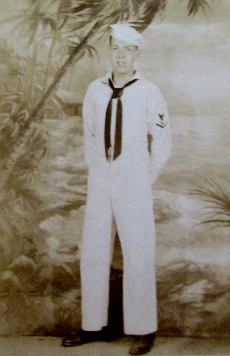 Alf Weidner made 3 Pacific combat cruises aboard sub USS Bowfin