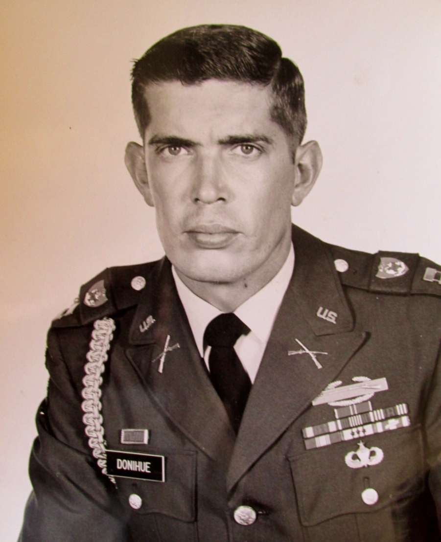 Lt. Ken Donihue in 101st Airborne fought NVA & A-shau Valley of Vietnam