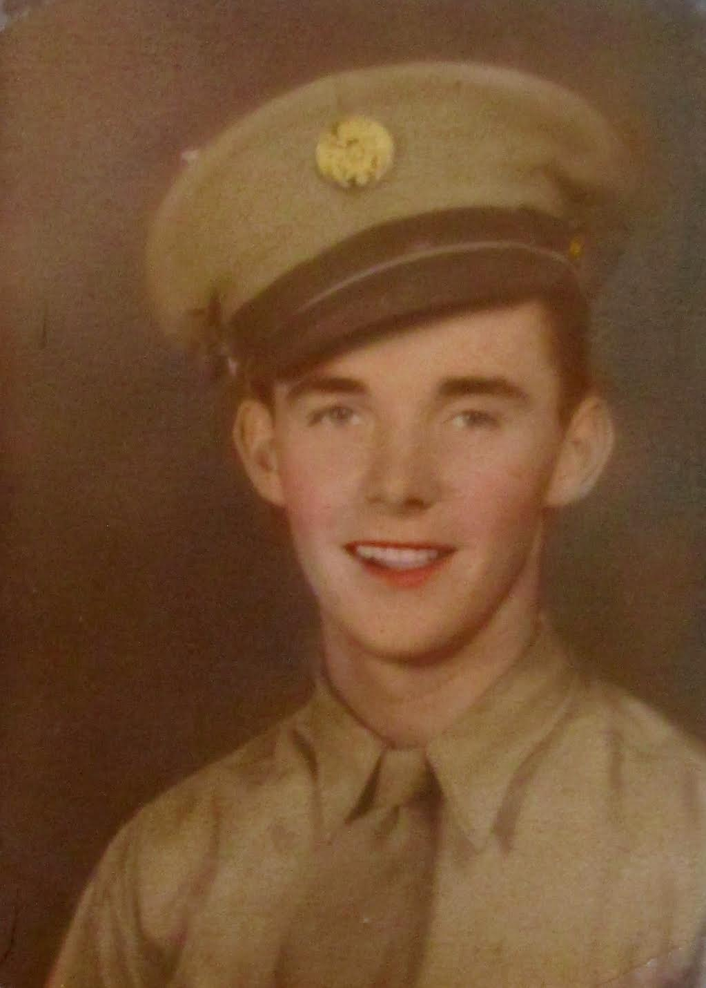 Pfc. John Coine was a rifleman with the 78th Infantry Division that fought across Europe during World War II