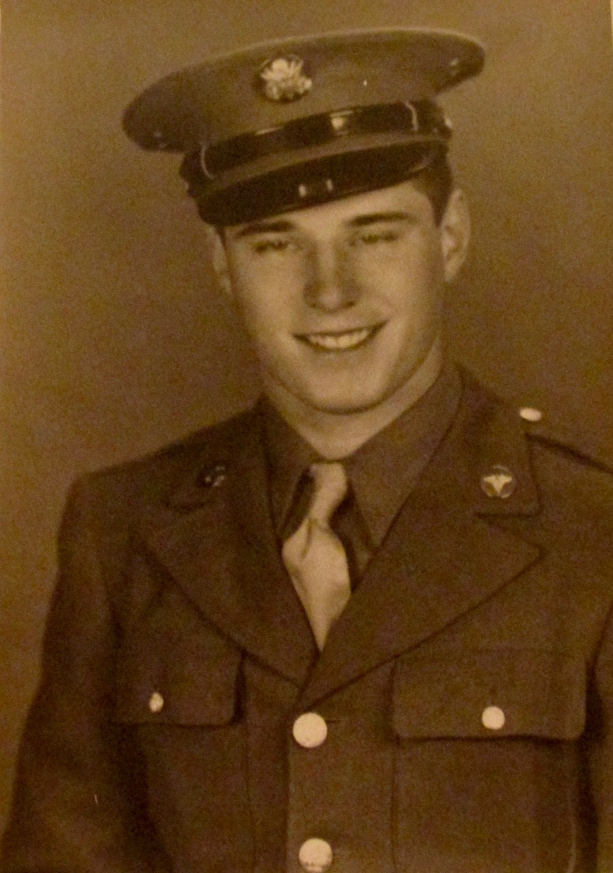 This was Bob Schrock of Port Charlotte when he graduated from boot camp in 1944. He ended up serving at Clark Field in the Philippines at the end of World War II. Photo provided