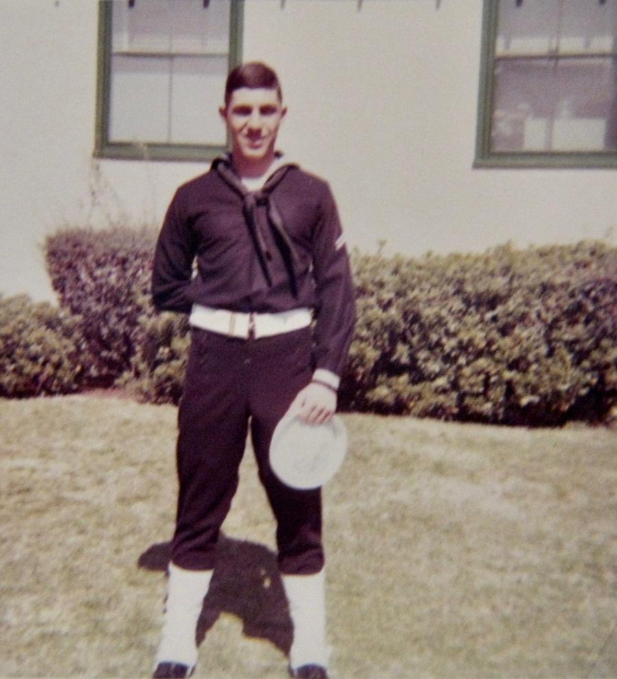 Gurio Vincenti of Punta Gorda was first a Navy steward then