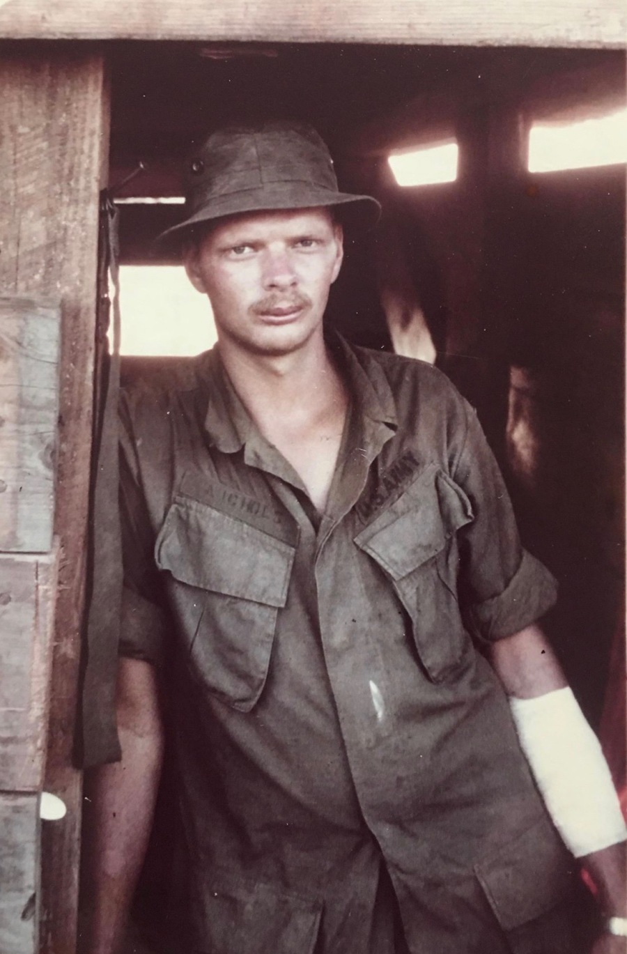 Sgt. Nichols with the Americal Division in Vietnam in 1970. Photo provided