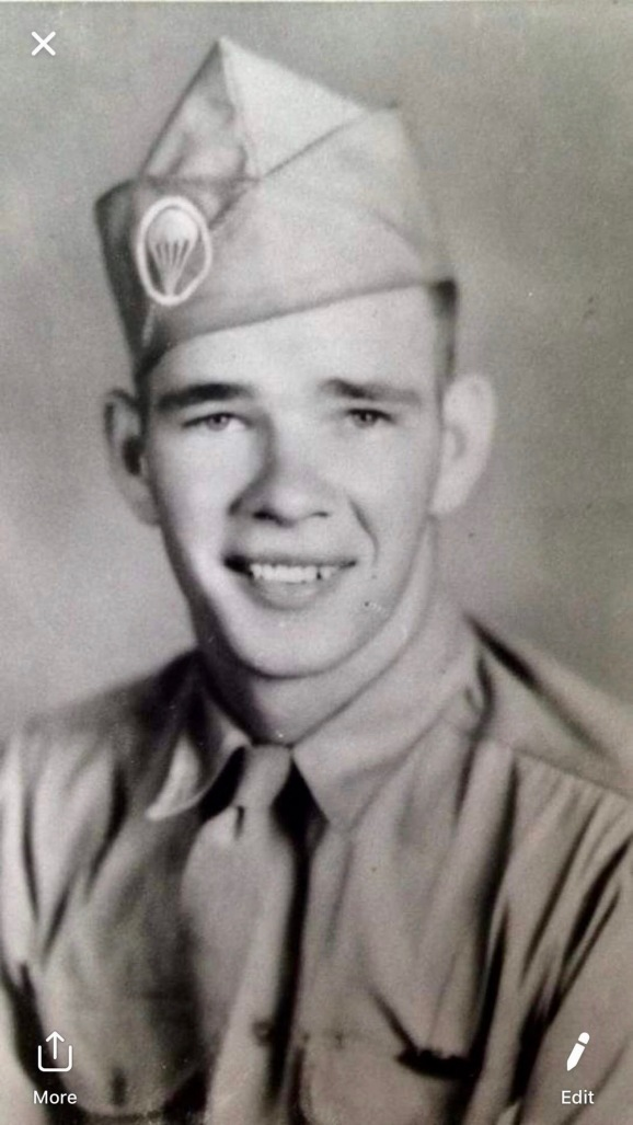 This is Sgt. Doug Nichols when he graduated from boot camp at Fort Jackson, S.C. in 1969. Photo Povided