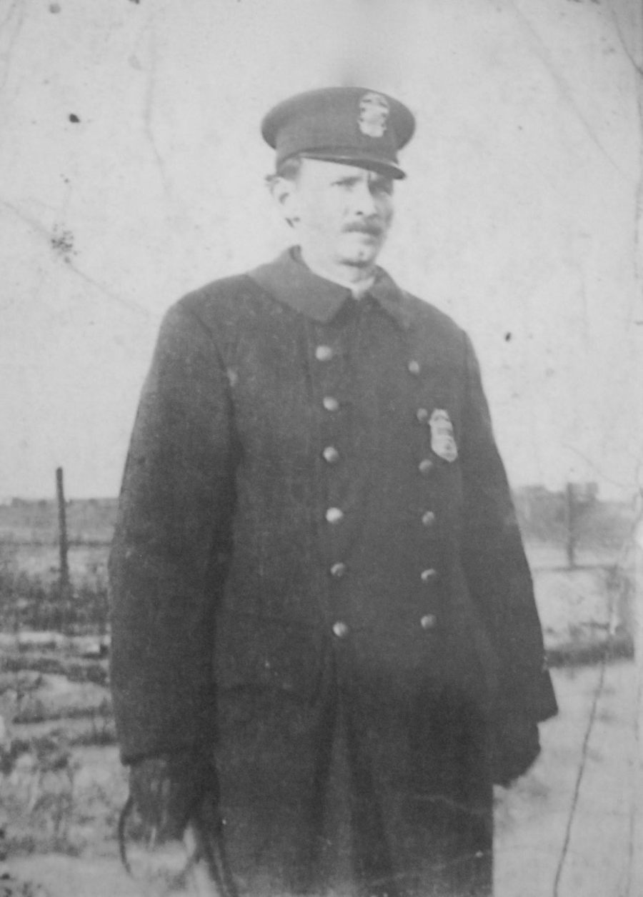 Goodrich served on the Columbus, Ohio Police Department for a decade right after the war. Photo provided