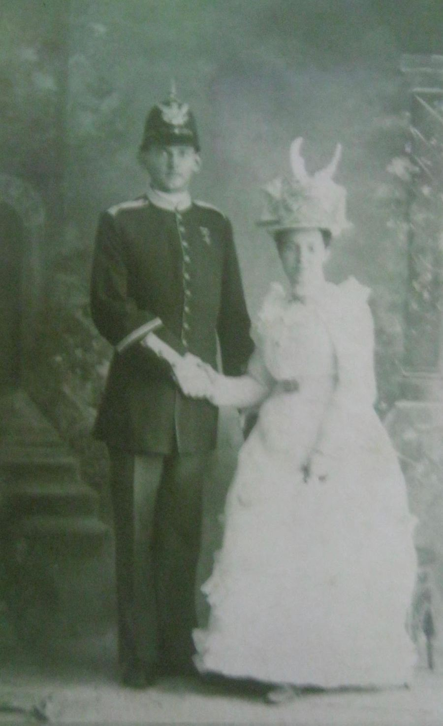 Goodrich was in his full dress uniform when he and Carrie Belle were married during the Spanish-American War. She was 14 when they got hitched. Photo provided