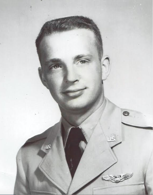 This is Robert W. Akers who graduated from the United Sates Air Force's Aviation Cadet Program in 1956 at Del Rio, Texas when he was 20-years-old. Photo provided