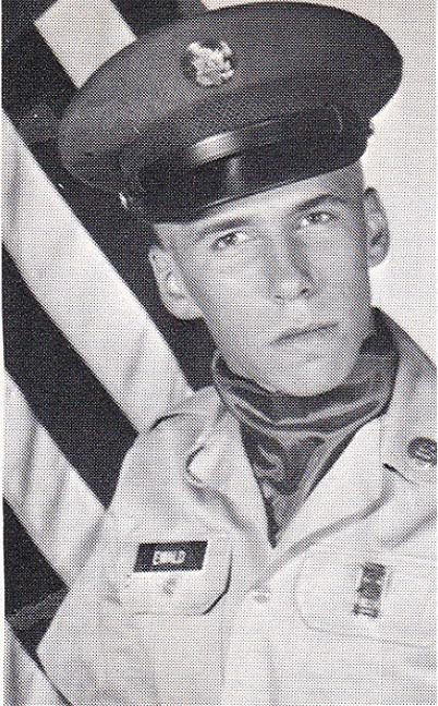 This is Pvt. Harry Ewald of Venice when he graduated from basic training at Fort Leonard Wood, Mo. in 1967. (Photo provided)