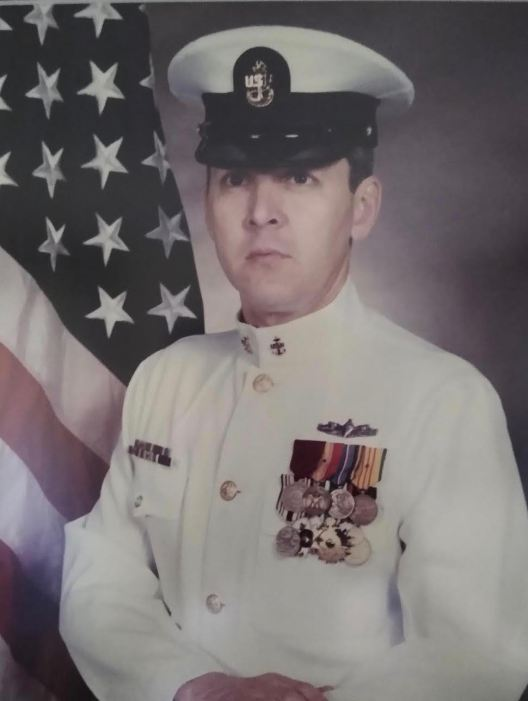 This was Leff about the time he retired from the Navy as a Chief Petty Officer in 1993. Photo provided