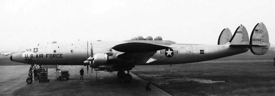 Hardy also flew aboard this Navy EC-121 while working for the people at Wright-Patterson Air Force Base in Dayton, Ohio in the '60s. They were capturing the blast-off from Cape Canaveral of Mercury Program astronauts and their recovery in the Pacific. Photo provided